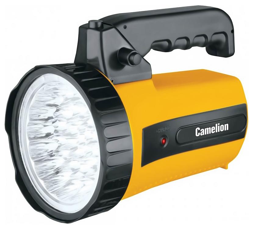 Туристический фонарь Camelion Ultraflash Akku Profi LED29315 желтый/черный, 1 режим