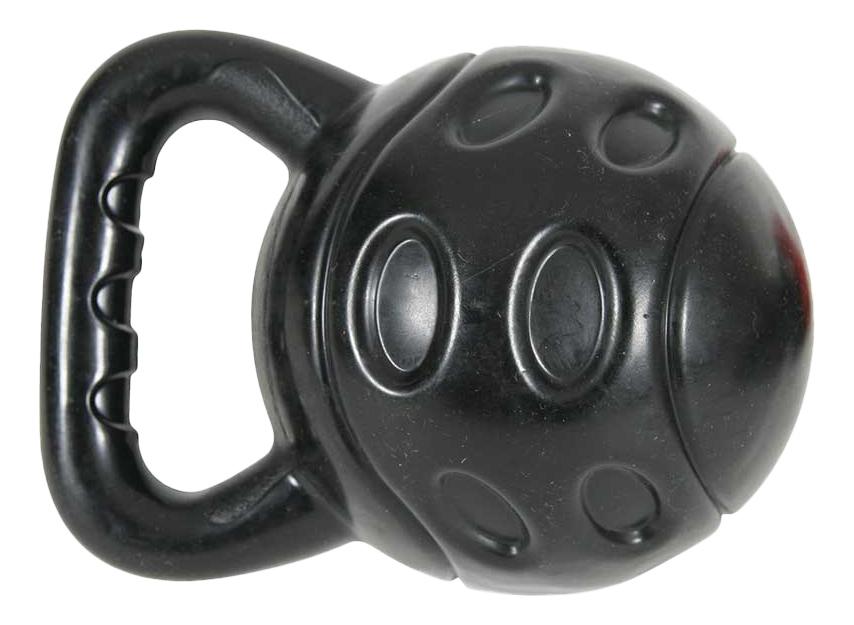 Игрушка для собак ZOLUX Bubble гиря черная,