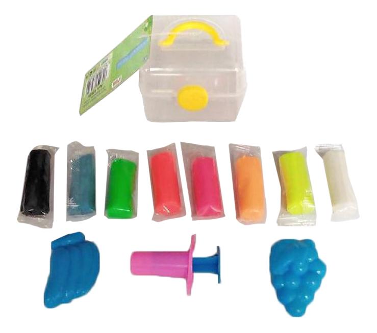 Купить Тесто для лепки Color Puppy с аксессуарами 8 цветов 63935, Лепка