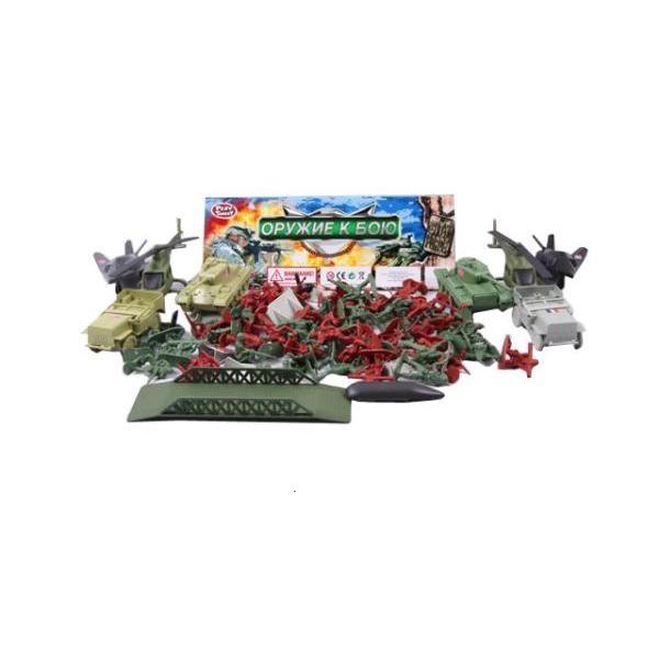 Купить Набор Оружие к бою Play Smart военный К33892, PLAYSMART, Игровые наборы