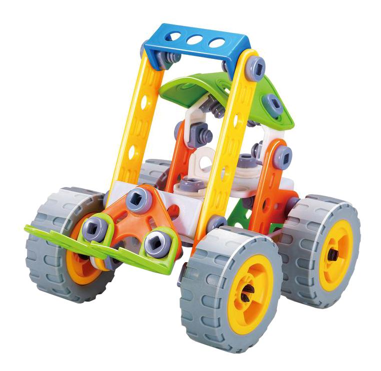 Купить Build&play машина, Конструктор Build and Play Машина Shantou Gepai B1569200 84 дет., Конструкторы пластмассовые