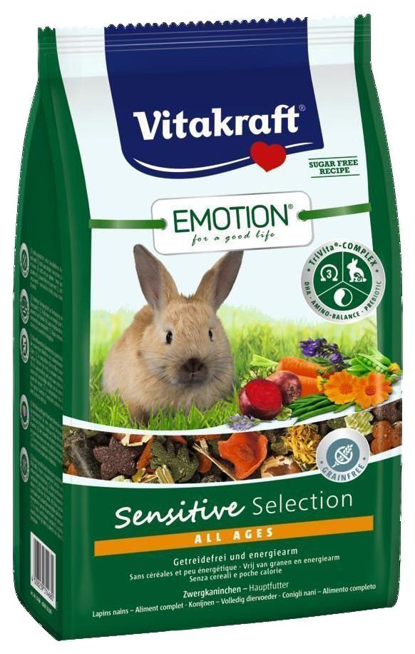 Корм для кроликов Vitakraft SENSITIVE SELECTION
