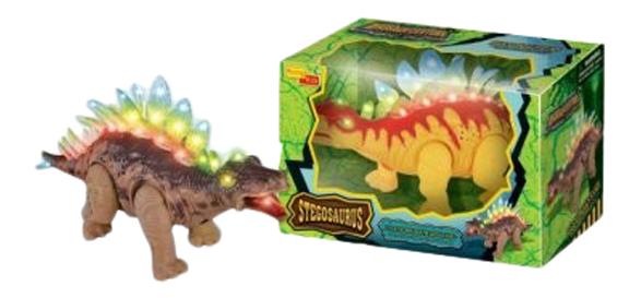 Интерактивная игрушка dinosaur century стегозавр движение Gratwest Б73104 фото