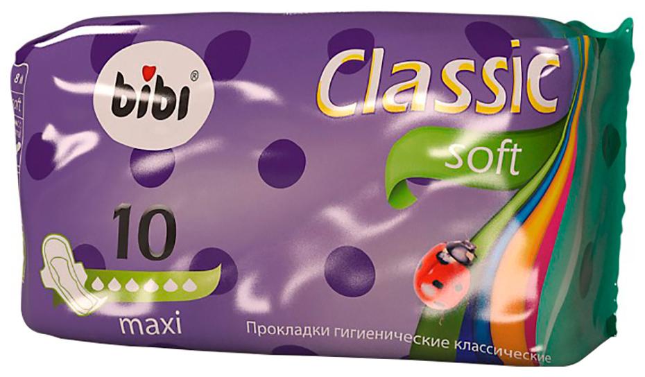 Прокладки BiBi Classic Soft Maxi 10 шт