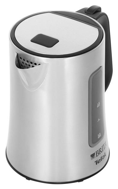 Чайник электрический Tefal Brita KI330 Silver