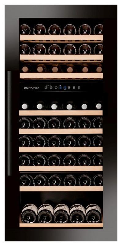 Встраиваемый винный шкаф Dunavox DAB 89.215DB