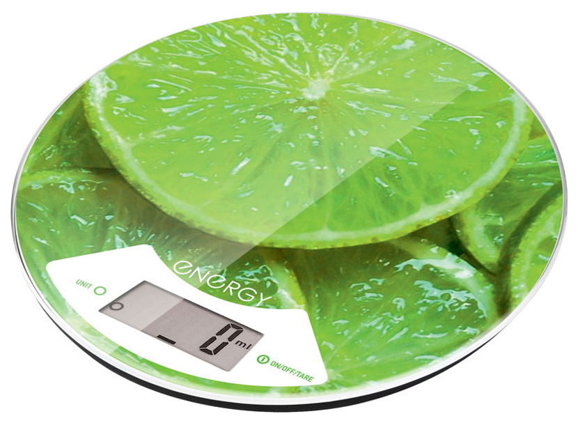 Весы кухонные Energy EN 403 цвет Зеленый