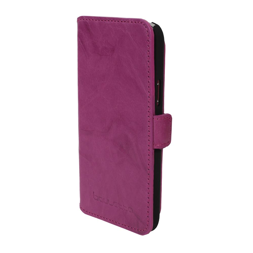 Кожаный чехол-книжка Bouletta (Портмоне) Розовый-B6 для Samsung Galaxy S5 Mini, Bouletta