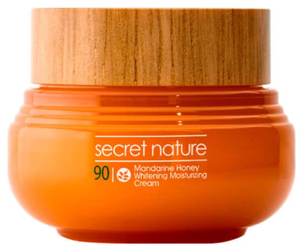 Крем для лица Secret Nature Mandarine Honey Whitening Moisturizing Cream 60мл фото
