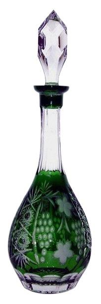 Декантер для вина Ajka Crystal Grape emerald/64569 Зеленый