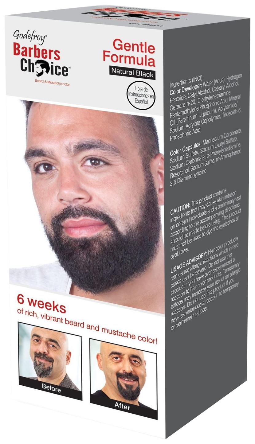Краска для бороды Godefroy Barbers Choice Natural