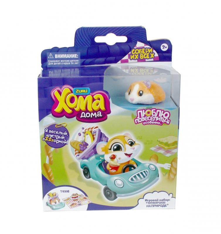 Купить Интерактивная игрушка 1 TOY Хома Дома Хомячим на природе Т12338, Интерактивные мягкие игрушки