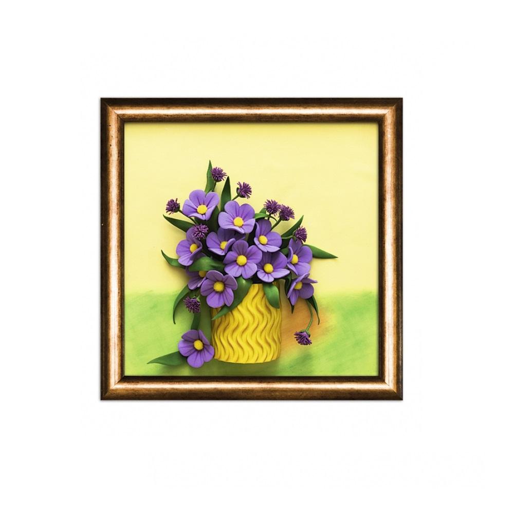 Купить Набор для творчества 3 D картина из фоамирана Полевые цветы, Волшебная Мастерская, Рукоделие
