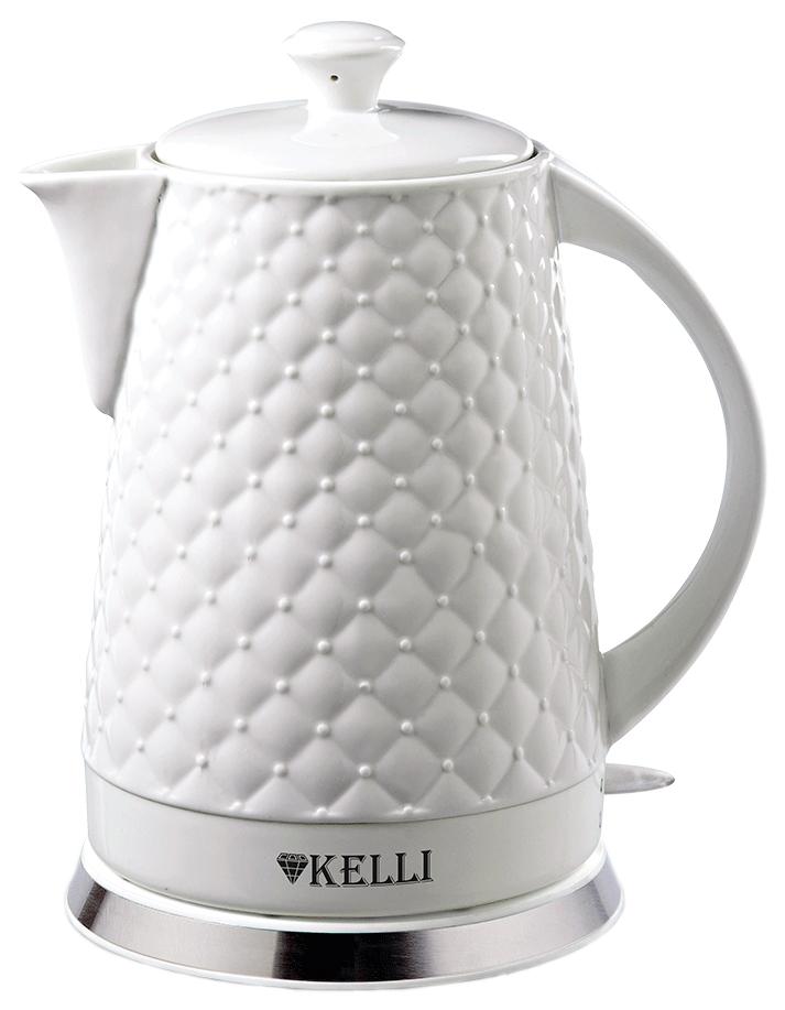 Чайник электрический Kelli KL 1340 White