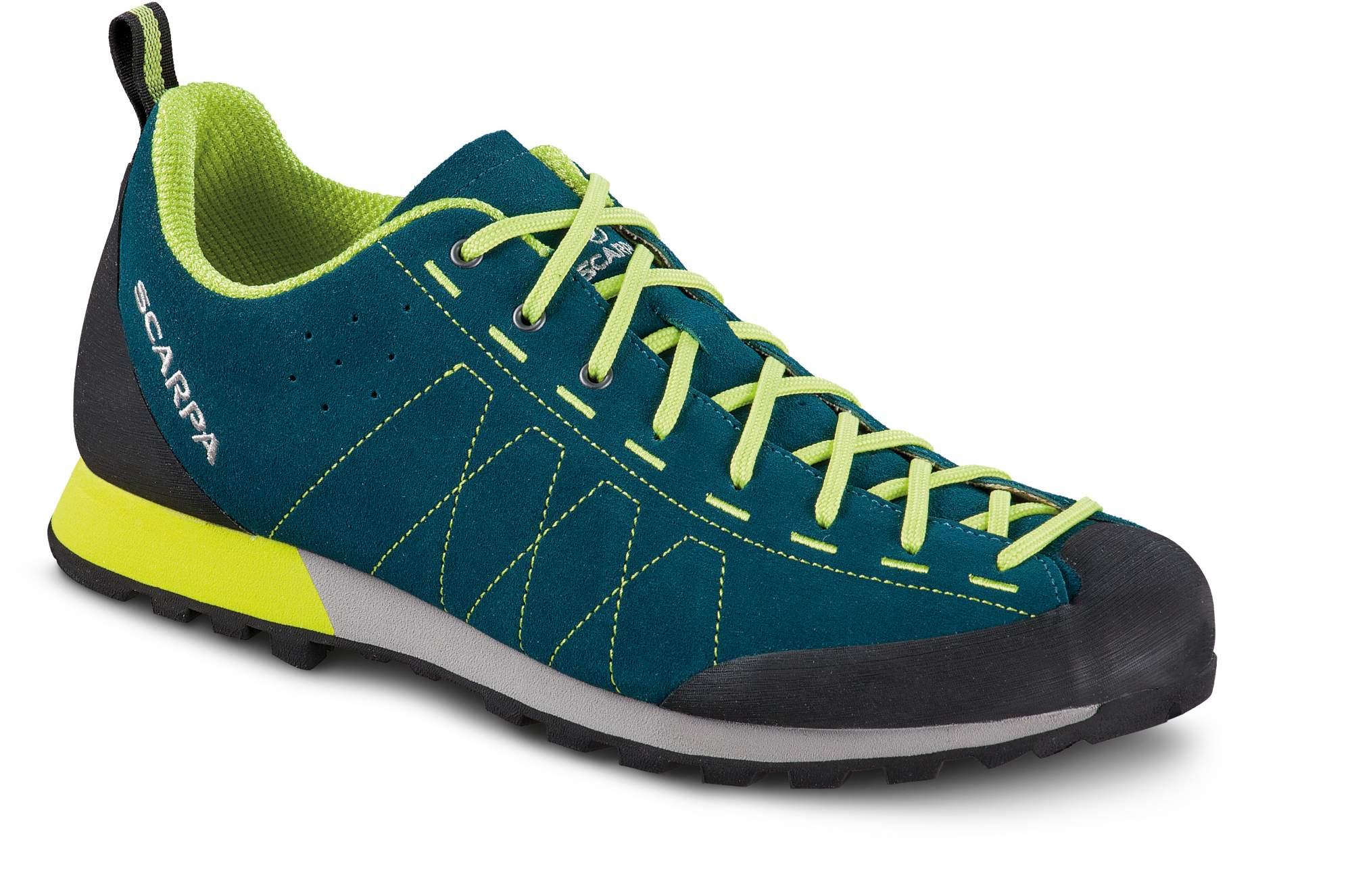 Ботинки мужские Scarpa Highball, lake blue/lime,