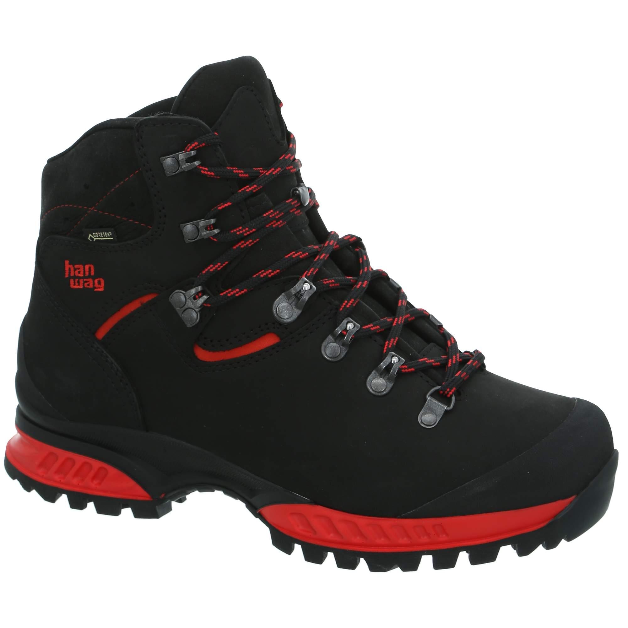 Ботинки мужские Hanwag Tatra II GTX, black/red,