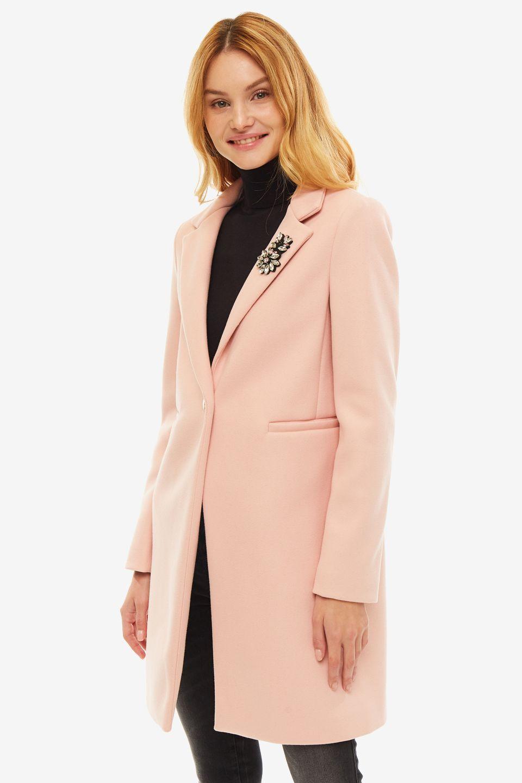 Пальто женское Liu Jo розовое