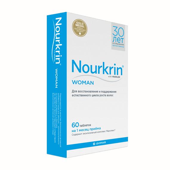 НУРКРИН для женщин, Nourkrin Scanpharm для женщин таблетки 60 шт.  - купить со скидкой