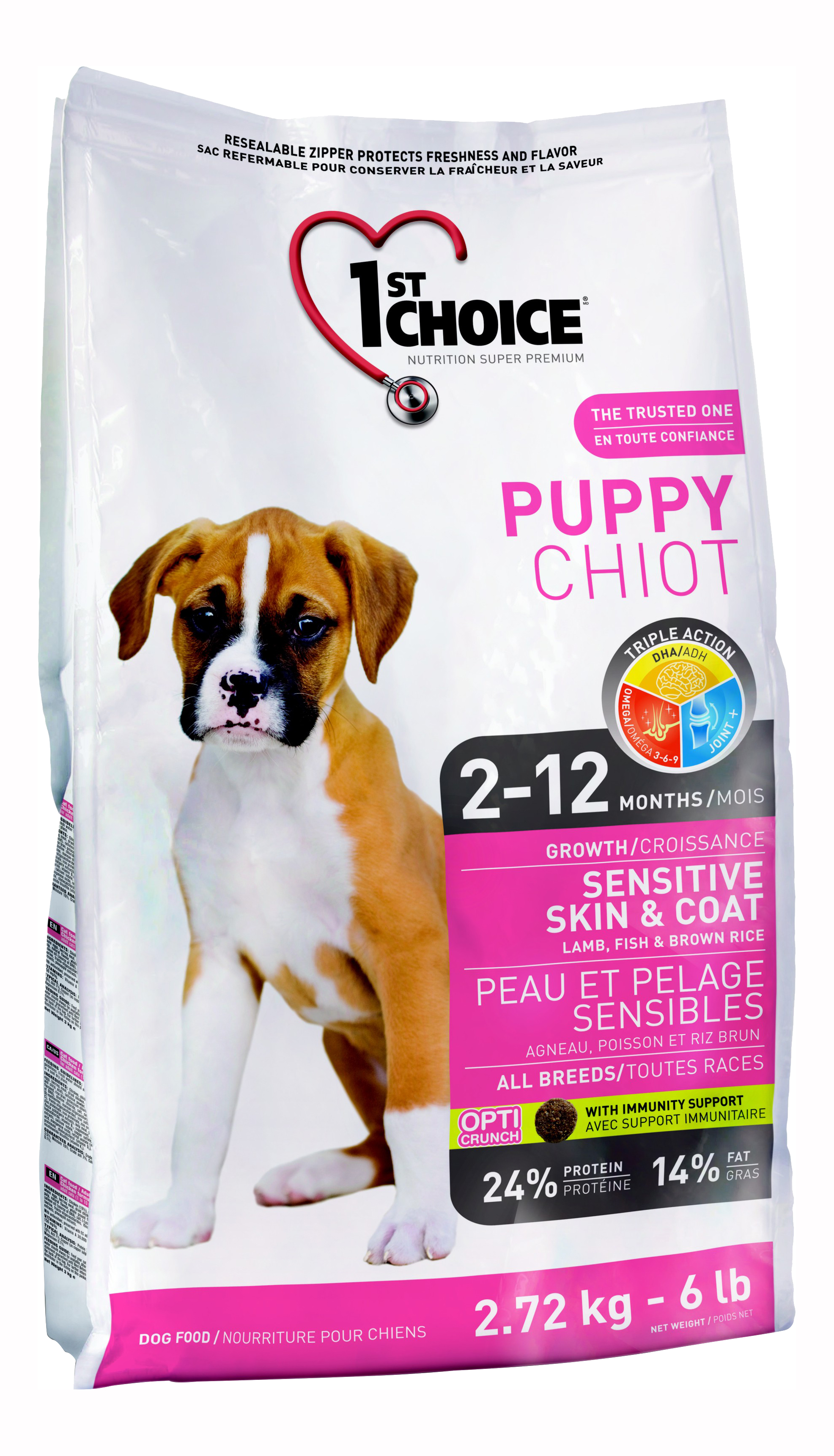1ST CHOICE PUPPY SENSITIVE SKIN#AND#COAT