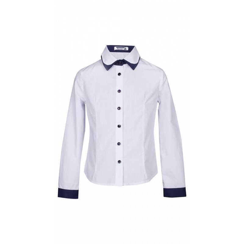 Купить ШФ-1021, Блузка SkyLake, цв. белый, 36 р-р, Блузки для девочек