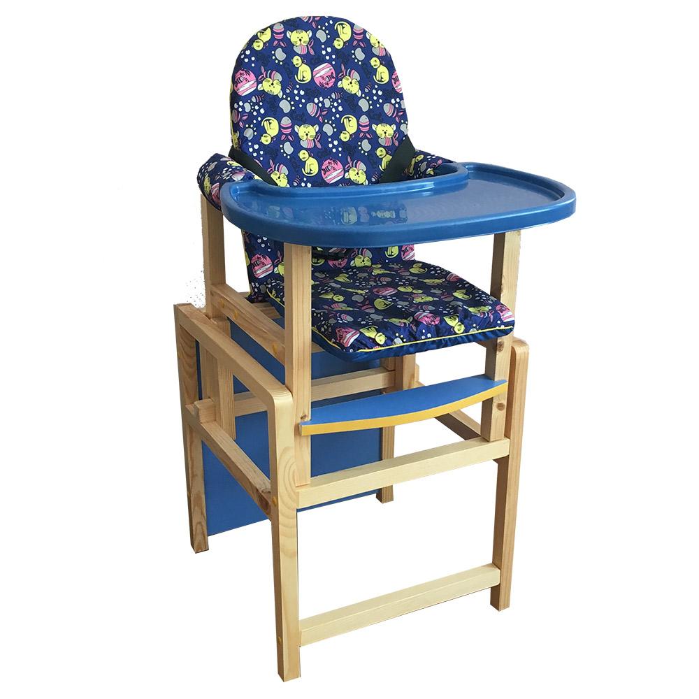 СЕНС-М Стул-стол для кормления КСЕНИЯ Синий пластик