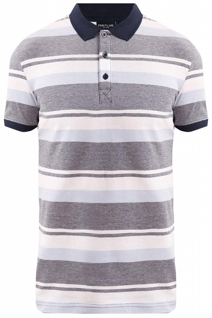 Купить KS19-81010, Футболка Поло для мальчика Finn Flare, цв. синий, р-р. 146, Детские футболки, топы