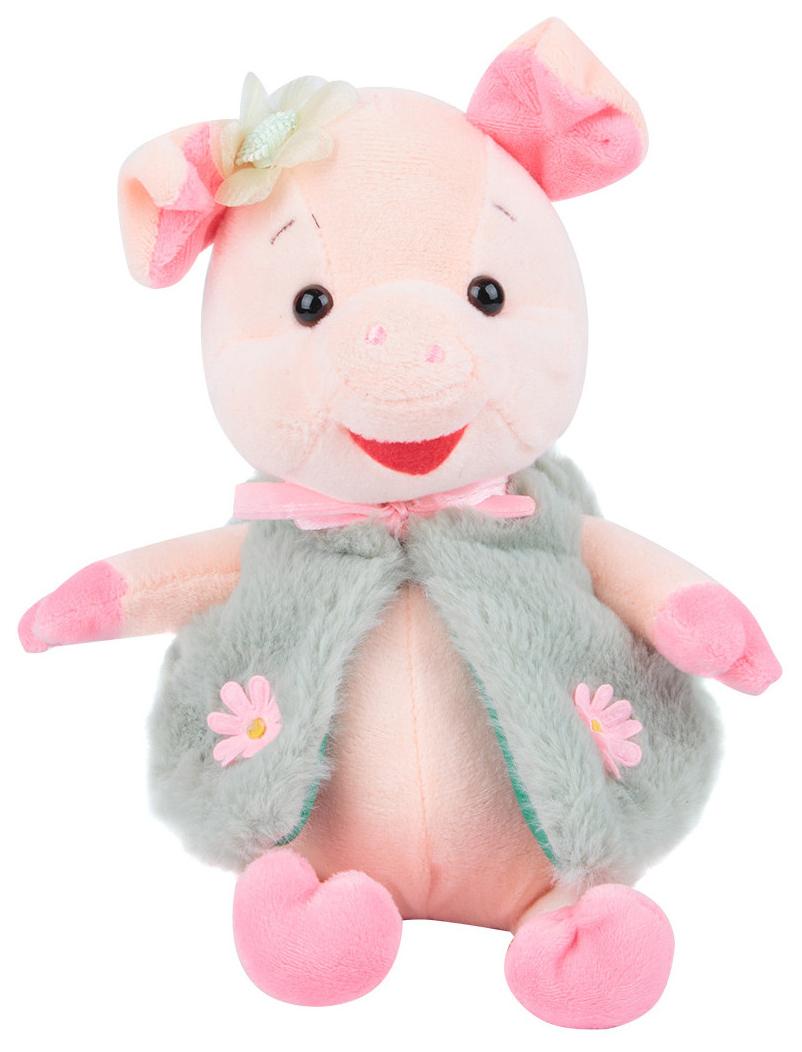 Купить Мягкая игрушка Поросенок , 20 см, Игруша, Мягкие игрушки животные