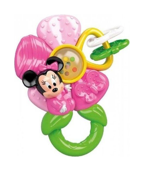 Купить Развивающая игрушка Цветочек Минни , Clementoni, Погремушки