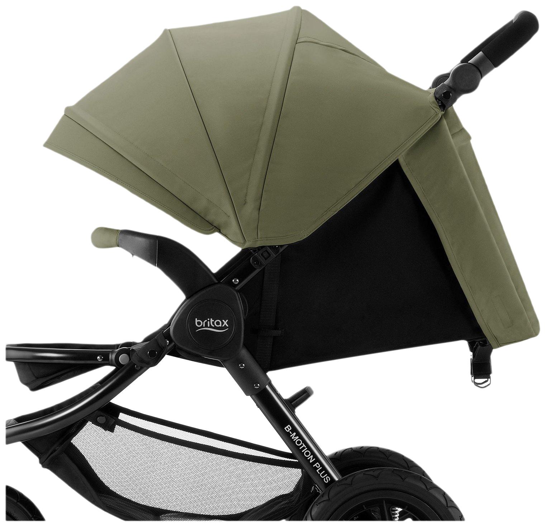 Купить Капор для коляски B-Agile 4 Plus и B-Motion 4 Plus, Olive Green, Britax Romer, Капюшоны на коляску