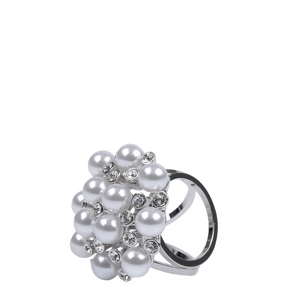 Зажим для платков женский FABRETTI N019-3 серый