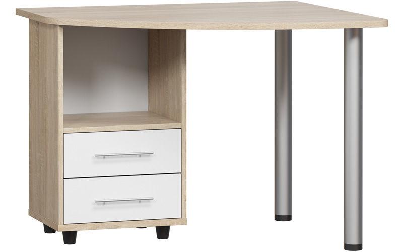 Компьютерный стол КСТ-102 Дуб Сонома левый