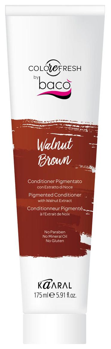Купить Кондиционер для волос kaaral COLOREFRESH Baco Walnut Brown 175 мл