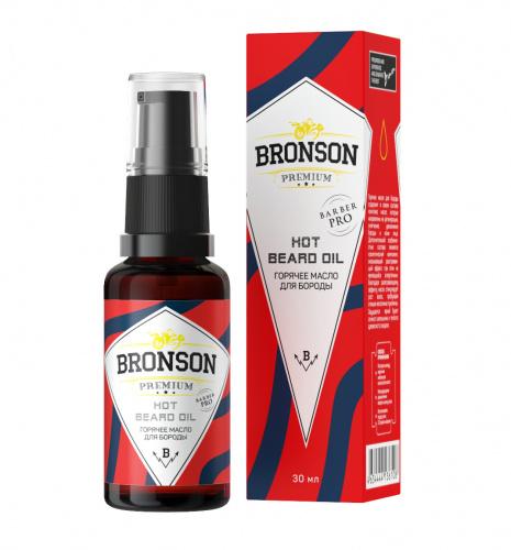 Горячее масло для бороды Bronson Premium