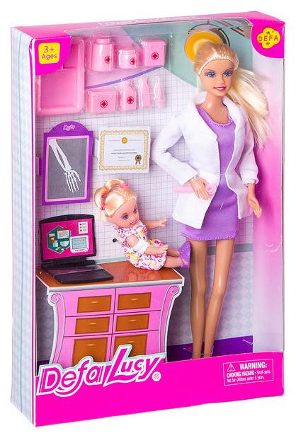 Кукла Defa Lucy Доктор и ребенок