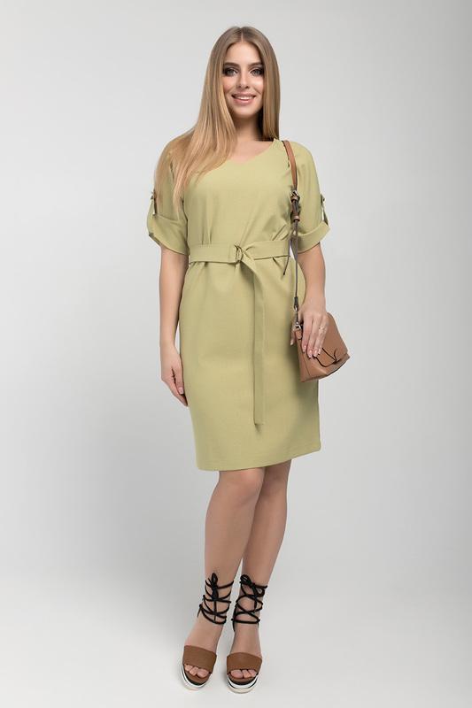 Платье женское ELISEEVA OLESYA 39354 желтое 46 RU фото
