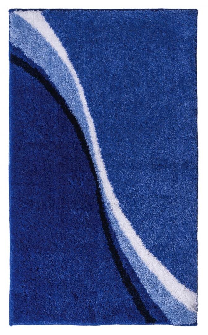 Коврик для ванной комнаты Barney синий 60*100