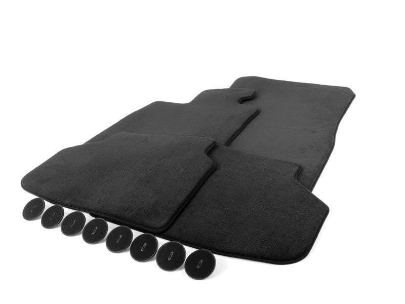 Комплект ножных ковриков velours BMW арт. 51477337689