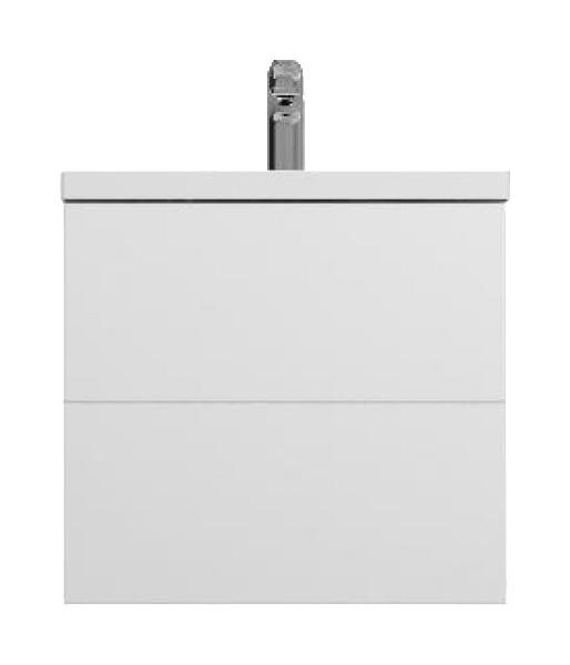 Тумба для комплекта Am.Pm Gem 60 белый глянец, подвесная, с 2 ящиками
