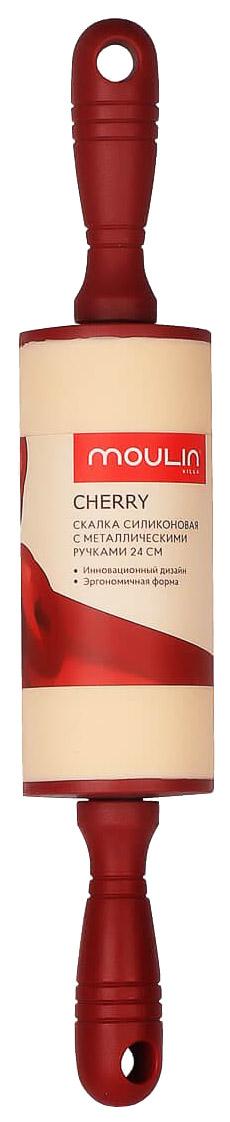 Скалка Moulin Villa Cherry C-RM-24 Бежевый, бордовый