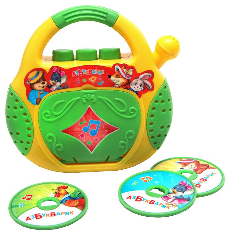 Интерактивная игрушка Азбукварик Плеер-CD Песенки-Потешки 28170-4