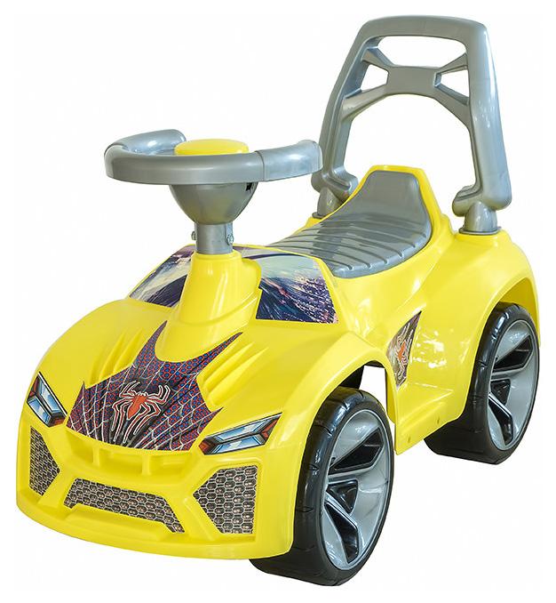 Машина-каталка Орион Ламбо с клаксоном ОР021 Жёлтый, R-TOYS,  - купить со скидкой
