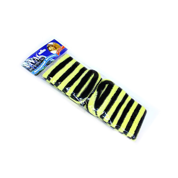 Мочалка для тела Vival Массажная длинная с массажными ручками