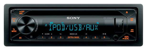Автомобильная магнитола Sony 4x55Вт CDX-G3300UV