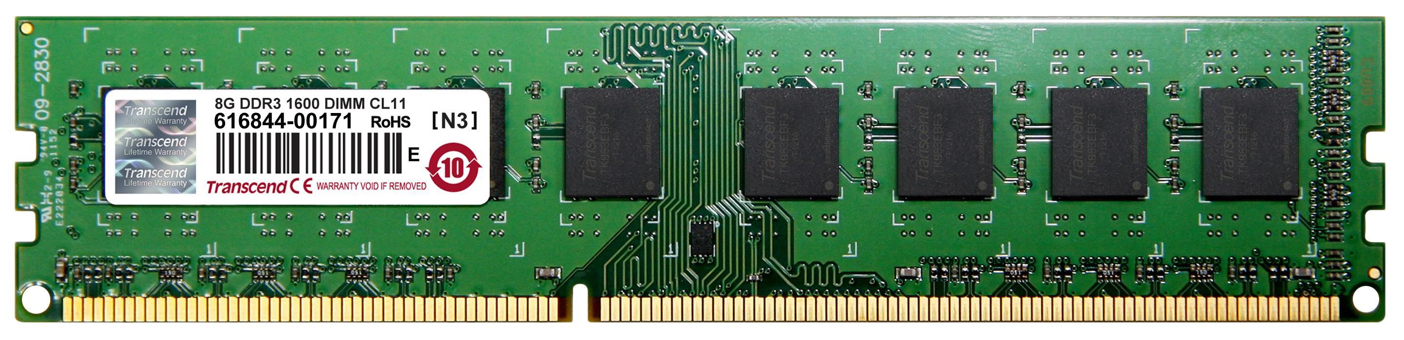 Оперативная память Transcend JM1600KLH 8G