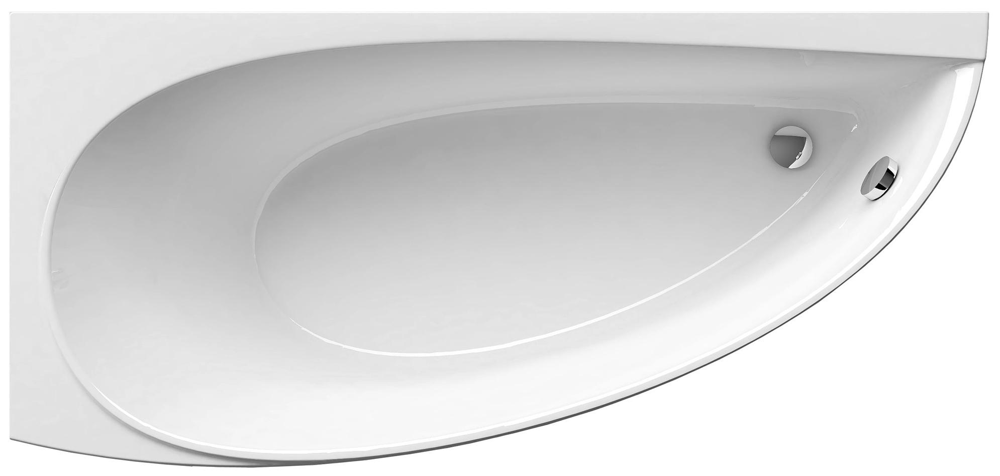 Акриловая ванна Ravak Avocado 150х75 без гидромассажа левая