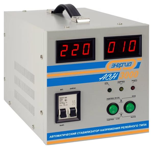 Стабилизатор напряжения Энергия АСН 3000 фото