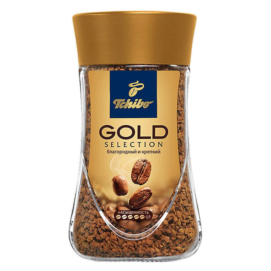 Кофе растворимый Tchibo gold selection 95 г