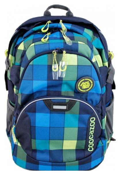 Рюкзак школьный Coocazoo JobJobber2 Lime District синий Желтый