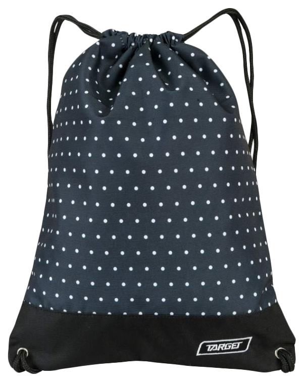 Мешок Target для детской сменной обуви Dots черный