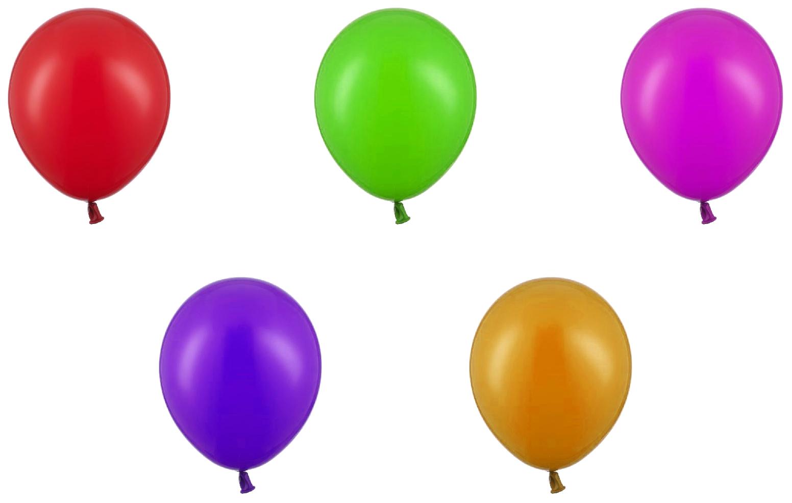 Купить Воздушные шары Belbal Пастель Ассорти 50 шт., Воздушные шарики